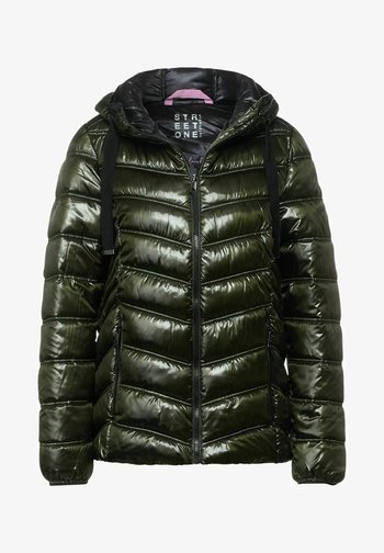 STEPP OPTIK - Light jacket - grün