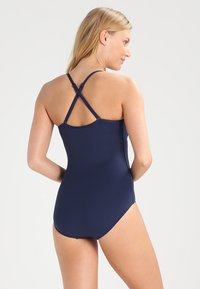 Seafolly - TWIST BANDEAU MAILLOT - Swimsuit - indigo - 2