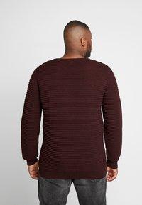 Jack´s Sportswear - CREW NECK - Trui - bordeaux - 2