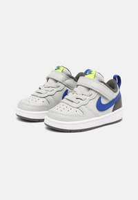 Nike Sportswear - COURT BOROUGH LOW 2 UNISEX - Baskets basses - grey fog/game royal/iron grey/volt - 1