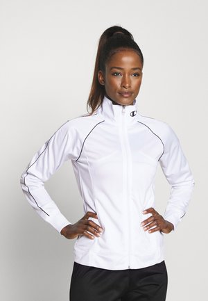 FULL ZIP SUIT LEGACY - Tracksuit bottoms - white