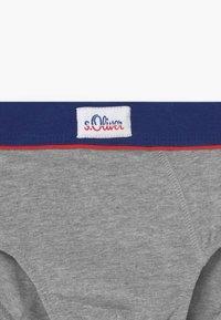 s.Oliver - BRIEFS 2 PACK - Kalhotky - grey - 3