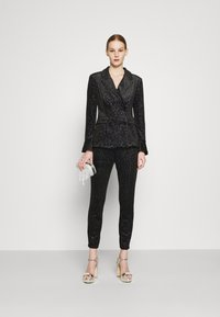 Never Fully Dressed - GLITTER DYNASTY JACKET - Blazer - black - 1