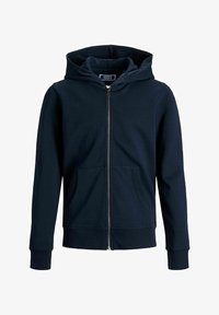 Jack & Jones Junior - JJEBASIC ZIP HOOD  - Zip-up hoodie - navy blazer - 0