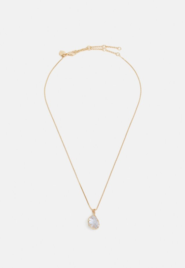 BEAUCERON - Necklace - clear/gold-coloured