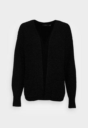 VMDAISY OPEN CARDIGAN - Cardigan - black