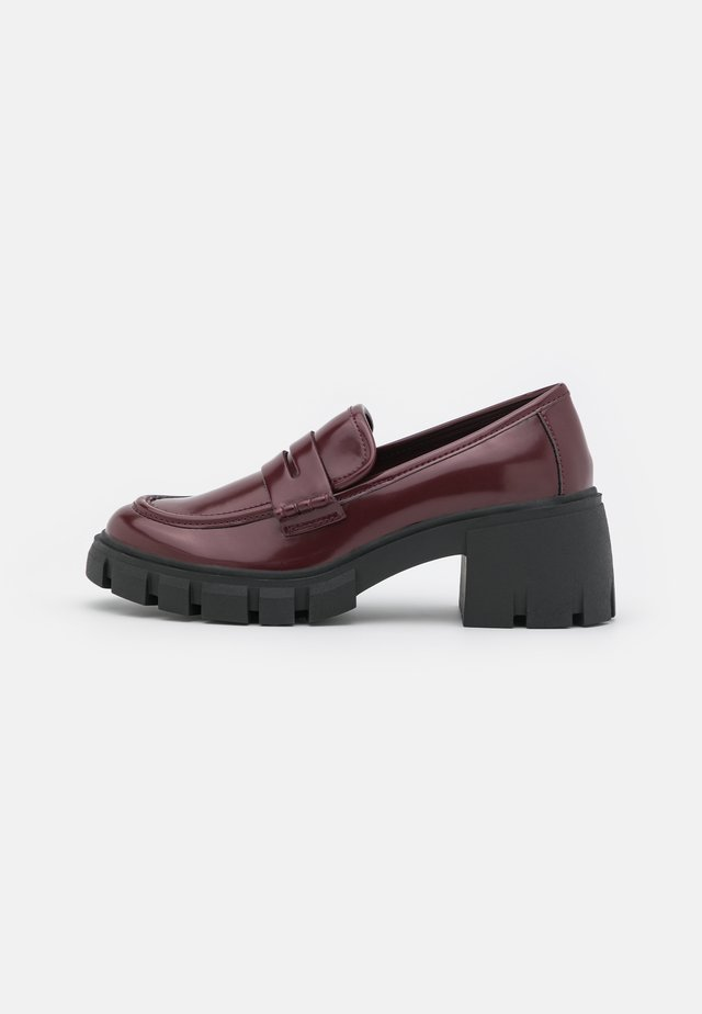 HUMPHERY - Platform heels - burgundy