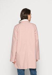 Ilse Jacobsen - RAINCOAT - Waterproof jacket - adobe rose - 3