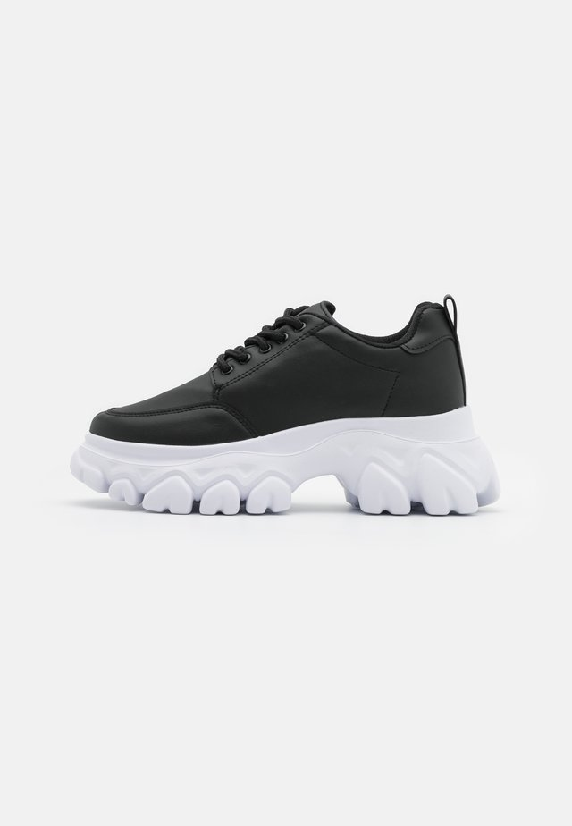 CHEW ON YOUR  - Trainers - black
