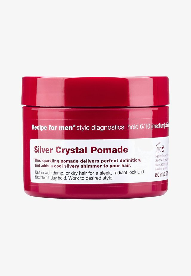 SILVER CRYSTAL POMADE 80ML - Hair styling - -