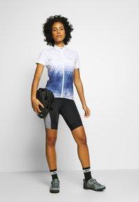 Gore Wear - DAMEN LINE KURZ - Tights - black/white - 1