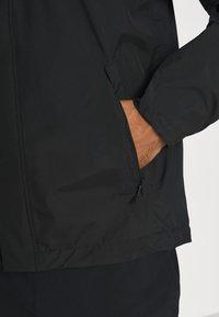 adidas Performance - FOUNDATION RAIN.RDY HIKING JACKET - Hardshell jacket - black - 5