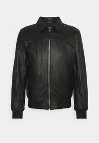 Schott - CALIFORNIA - Leather jacket - black - 0