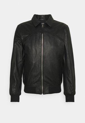 CALIFORNIA - Leather jacket - black