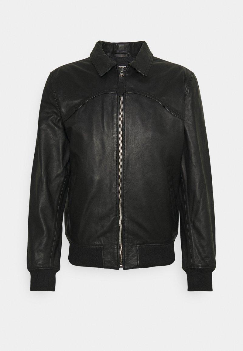 Schott - CALIFORNIA - Leather jacket - black