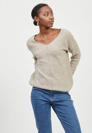 Sweter - natural melange