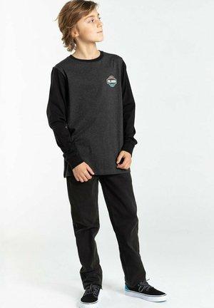 MONTANA  - Long sleeved top - black heather