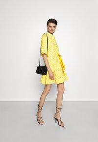 Diane von Furstenberg - BEATA DRESS - Shirt dress - sunshine yellow - 1