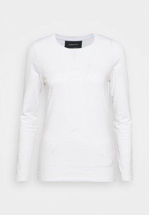 ORIGINAL - Top sdlouhým rukávem - white
