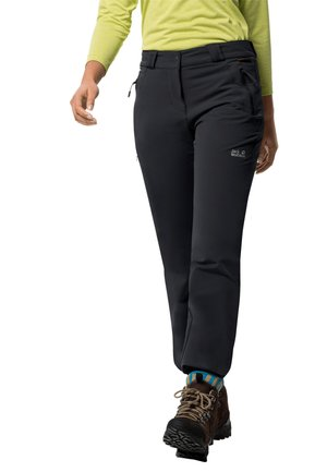 ACTIVATE THERMIC - Trousers - black