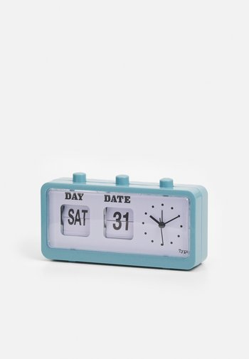 RETRO FLIP CLOCK UNISEX - Akcesoria technologiczne - denim blue