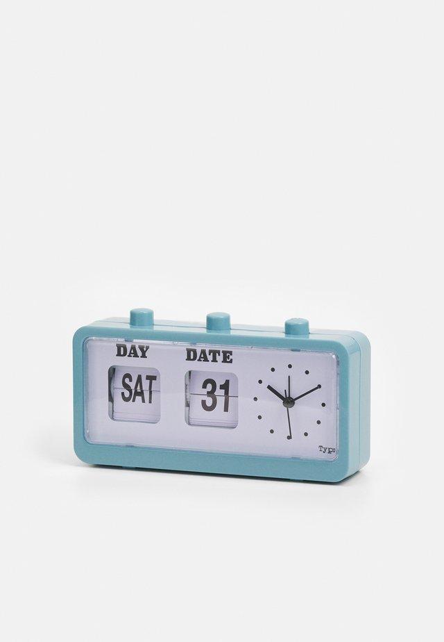 RETRO FLIP CLOCK UNISEX - Tech-accessoires - denim blue