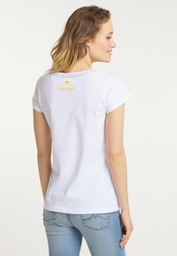 Schmuddelwedda - Print T-shirt - white - 2