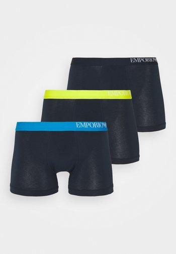 3 PACK - Pants - marine