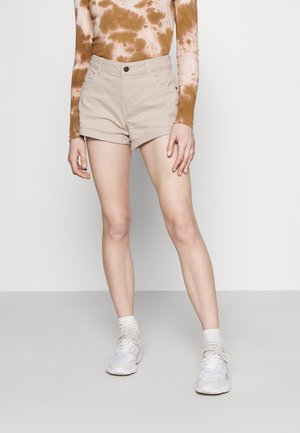 NMSHORTY - Jeans Shorts - chateau gray