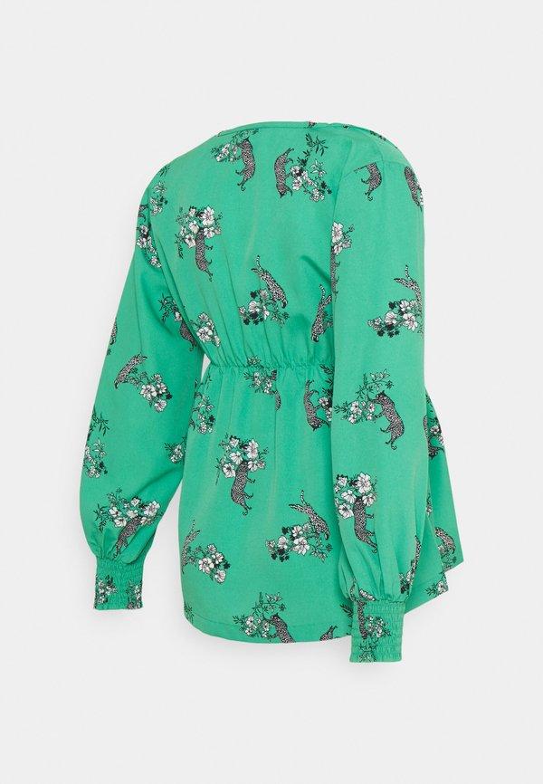 MAMALICIOUS MLFRANCKA TESS - Bluzka - holly green/zielony YHMM