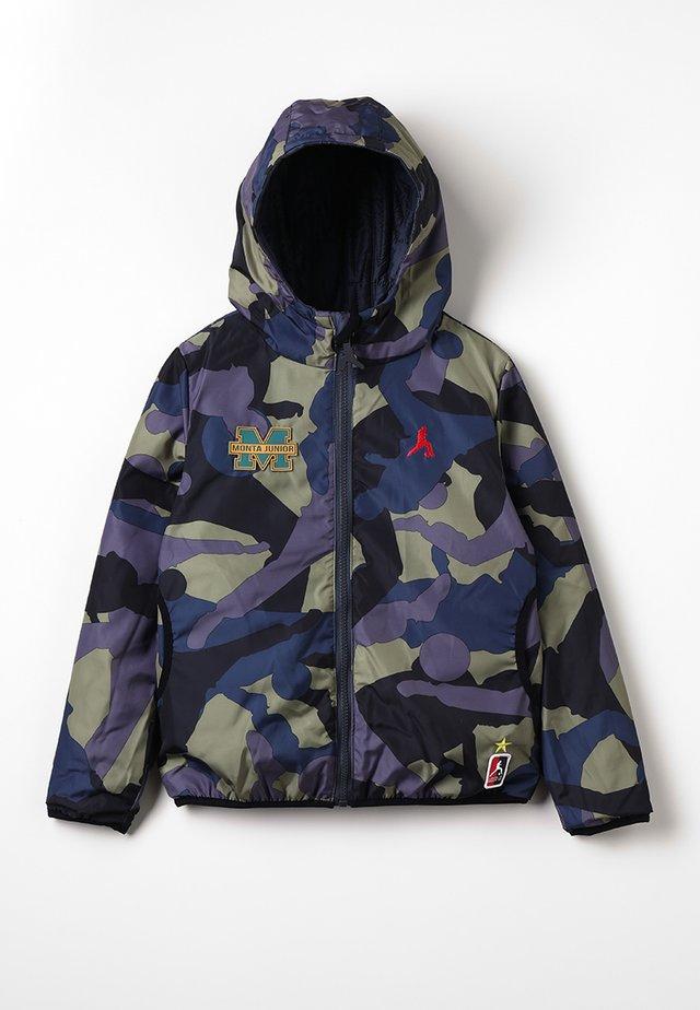 JENEAU - Training jacket - matte navy