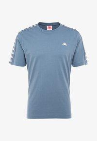 Kappa - GRENNER - Print T-shirt - dark blue - 4