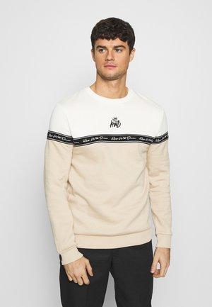 LEPDEN - Sweatshirts - sand/white