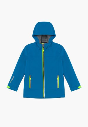 ADJERO UNISEX - Soft shell jacket - azur