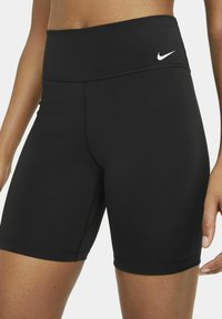 Nike Performance - ONE SHORT - Tights - black/white - 3