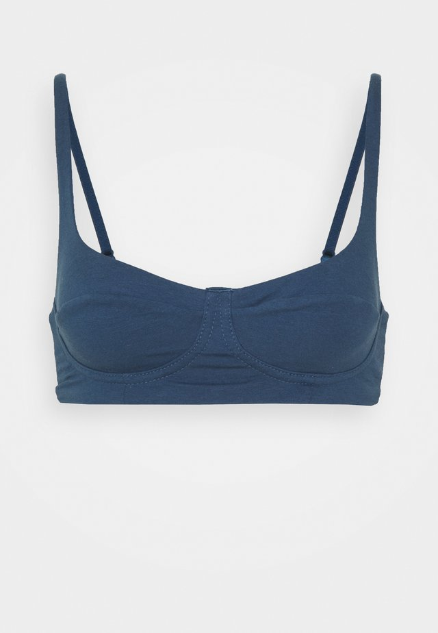 SCOOP BRALETTE - Underwired bra - dark denim