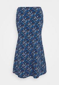 LADIES SKIRT - Pencil skirt - navy/blue/orange