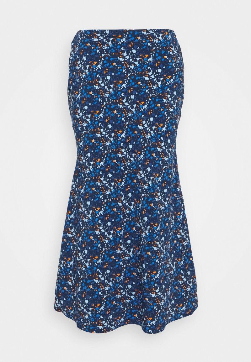 Glamorous Tall - LADIES SKIRT - Pencil skirt - navy/blue/orange