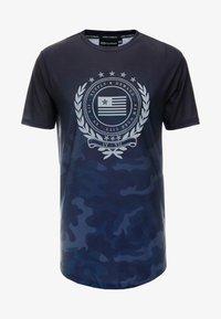 Supply & Demand - FUSE - T-shirt con stampa - black - 3