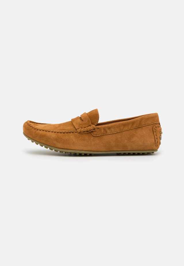 RICHMOND DRIVER - Moccasins - sand