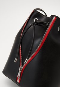 HUGO - ISABEL DRAWSTRING - Across body bag - black - 5