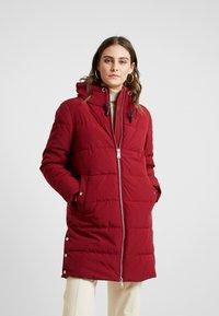 Esprit - PADDED COAT - Winter coat - dark red - 0
