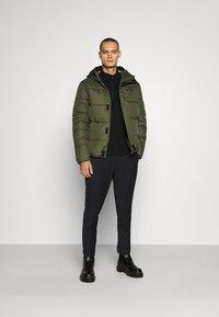 Calvin Klein Jeans - GALFOS - Spodnie materiałowe - black - 1