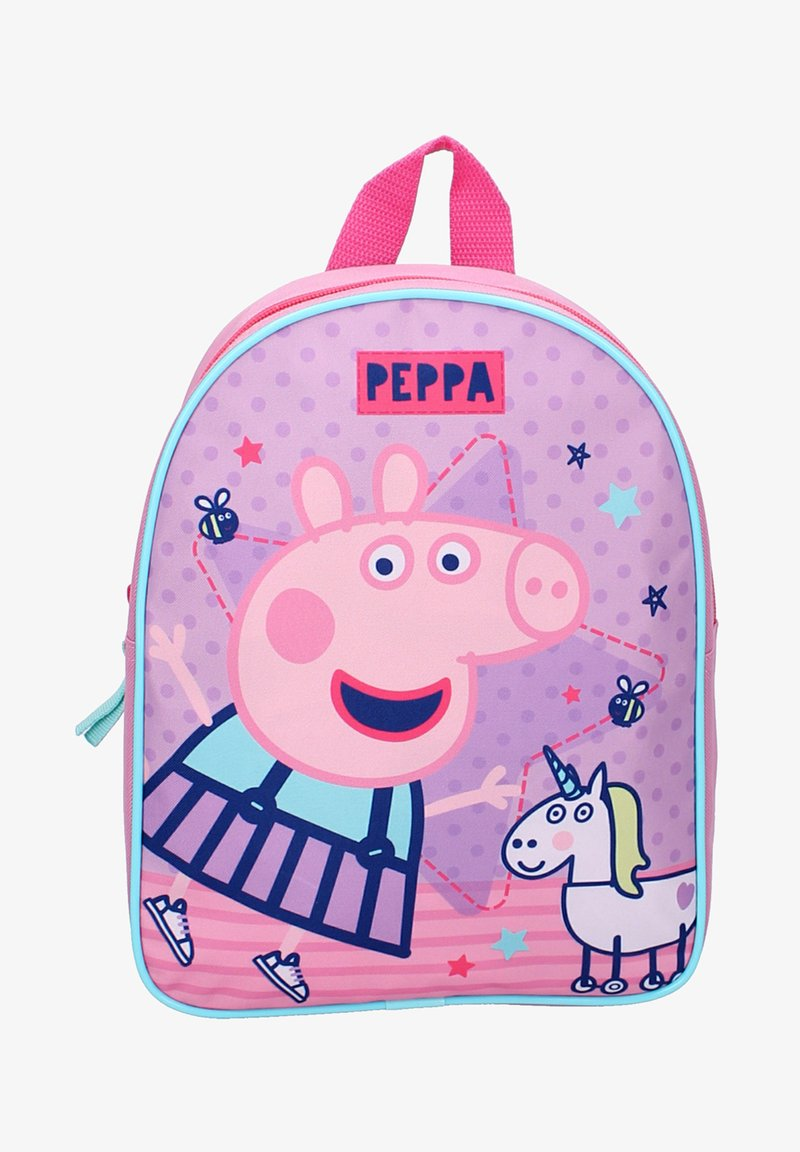 Peppa Pig - Rucksack - mehrfarbig