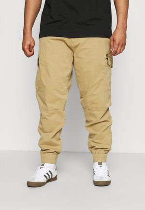 BHNAN PANTS - Cargo trousers - sand brown