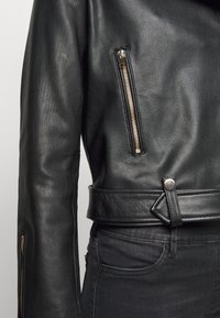LIU JO - CHIODO - Leather jacket - nero - 5