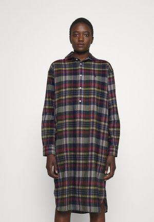 BLEEDING - Shirt dress - madras