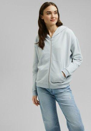 Zip-up sweatshirt - light blue lavender