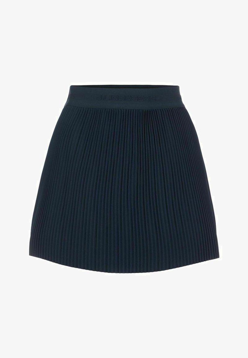 J.LINDEBERG - Pleated skirt - jl navy