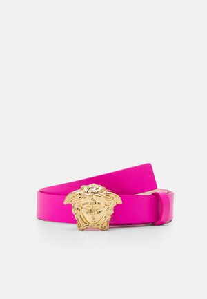 MISSING ENGLISH LOCALIZZATION UNISEX - Belt - hibiscus/gold
